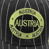 2020 Ombra Gorras Brand Austria Bandiera Bandiera Pesca Berretto da baseball Cappello da Baseball Canada Cappello da uomo Snapback Bone Regolabile Bone Bodymen Baseball Hat Snapback Hat