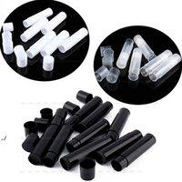 Yeni 5g Kozmetik Boş Chapstick Dudak Parlatıcısı Ruj Balsamı Tüp ve Kapaklar Konteyner Siyah Beyaz Temizle Renk EWF1227