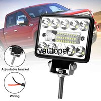 3 inch 12V 54W 3030 LED 18SMD Car Accessories Work Light Led Bar Spot Light for Truck Tractor Boat Offroad Car SUV Waterproof