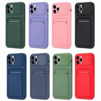 Push window card phone cases for iphone 13 pro max 12 11 X XR XS 7 8 plus SE case cover