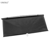 Uxcell Retractable Car Auto Side Sunshades 45/50/56/58cmx125cm Sun Shade Visor Roller Blind Summer Protection Window Film