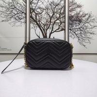 High Quality luxurys G designers Fashion womens CrossBody bag Shoulder Bags Letter Handbag ladies purse 2021 Chains Cross Body Clutch Camera Handbags gb79