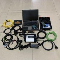 3in1 Auto-Diagnose-Tool für BMW ICOM A2 + MB Star C4 + 5054A mit D630 Laptop Alle installierten GROSS 2TB HDD