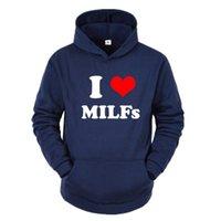 Newi Love Milfs Printed Sweatshirt Dance Street Clothes Men women Spring Autumn Fashion Long Sleeve Oversized Hoodies