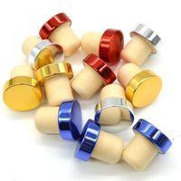 شريط أدوات T- شكل سدادة النبيذ سيليكون التوصيل زجاجة كورك سدادات ختم كاب الفلين للبيرة OWB6270