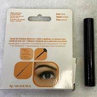 ADESIVE ADESIVE ADESIVE ADESIVE EYE GLUS Brush-on Vitamine Nero / 5G Strumento di trucco confezione