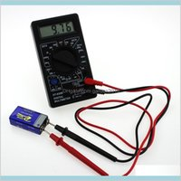 멀티 미터 전기 악기 측정 분석 Office 학교 비즈니스 산업용 LCD 미니 디지털 멀티 미터 DT-830B ELECTR