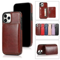 Luxury Wallet Cases Leather Phone Cover for iPhone 12 11 Pro Max XR Xs SE2020 7 8 plus Cellphone Case Protective Shell .