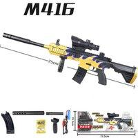 M416 المياه رصاصة لعبة بندقية ual الكهربائية في 1 paintball في الهواء الطلق البلاستيك blaster نموذج cs اطلاق النار لعبة للبنين