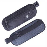 High Quality Men Women Nylon Waist Hip Belt Bag Cell Mobile Phone Case Invisible Wallet Pocket Anti theft Money Fanny Pack Pouch