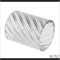 Moule en forme de cylindre rond en spirale en plastique pour bricolage Faire de l'artisanat SAPSC Changles Cvher
