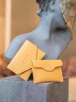 Sac à carte Main Femmes Ultra mince Mini Storage Portable Téléphone mobile Zero Portefeuille Petit Certificat Cover Porte-cartes de visite