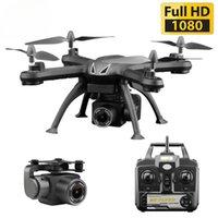 Dron vs E58 Drone X6S HD Camera 480P / 720P / 1080P Quadcopter FPV Dron One-botão Retorne Flight Flight Hover RC Drone Toy