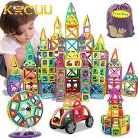 Kacuu Big Size Big Blocks Magnetic Designer Costructor Set Model Building Toy Magneti Giocattoli educativi per bambini Q0723
