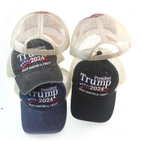 Donald Trump 2024 Cap Embroidered Baseball Hat With Adjustable Strap 5 colors DWE8333
