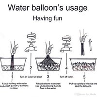 2021 Sular Balonlar Topları W Atters Bomba Pompası Hızlı Enjeksiyon Yaz Plaj Oyunları Su Şişme Balonlar
