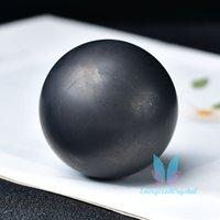 Shungite Sephere Natural Crystal Crystal Ball Decor De Meditação
