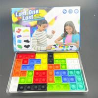 16 шт. / Набор строительный набор с коробкой головоломки пузырь Fidget игрушка образовательный силиконовый стресс risever Sensosy игрушки для вечеринки Party DWA8258