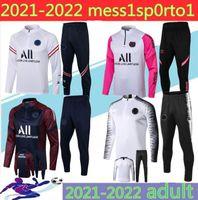adult niños Psg chándal 2021 psg Stars fútbol trotar chaqueta 20 21 22 Paris niño traje de entrenamiento de fútbol