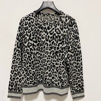 2021 Autumn Winter Milan Runway Sweaters O Neck Long Sleeve Women's Sweater High End Jacquard Pullover Designer Clothing 0909-3