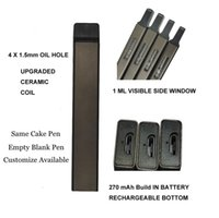 Customize Delta 8 Disposable vape pen cigarettes Rechargeable 270mah battery 1.0ml Empty Vaporizer Atomizer Starter Kits Micro USB