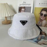 2021 yeni kova şapka sonbahar kış peluş sıcak beyzbol şapkası mektubu logo erkek ve kadın balıkçı şapka