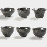 Cups & Saucers Handmade Tea Cup Black Tianmu Yao Pattern Built Master Ceramic Single Kiln Glazed Bowl