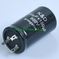 Smart Power Plugs 1pc 35*70mm Can Eelectrolytic Capacitor 100uf + 500V Guitar Amp