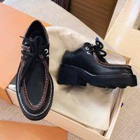 Женские платье свадьба обувь высокого качества кожаная обувная платформа сандалии моды бизнес формальный лоуфференцтена социальная коренастая обувь размером 35-39