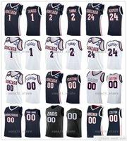 NCAA Gonzaga Bulldogs College Баскетбольные майки 1 Джален Саггс 2 Дрюн, Timme 0 Julian Colrether 21 OUMAR Ballo 22 Anton Watson Corey Kispert Бен Грегг Доминик Харрис
