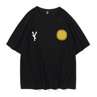 2021 Sommer Herren T-shirt Mode Einfache Reiner Baumwolle Schwarz-Weiß-Paare Kleidung Casual Hochwertige Brief Stickerei M-8XL