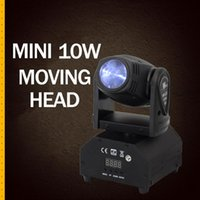 Effects Mini 10w Moving Head Beam Professional Stage Lighting For Dj Equipment