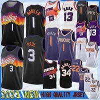Devin 1 Booker Steve 13 Nash Chris 3 Paul 34 Barkley Deanda 22 Ayton Man Jersey NCAA 2021 Jerseys de baloncesto 1 Booker 3 Paul 22 Ayton