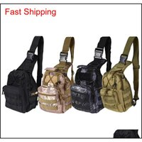 Bags Backpacks Tactical Sale 9 Color 600D Outdoor Hiking Shoulder Camping Gear Camouflage Bag Hunting Backpack Utility Drop Delivery 2
