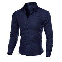 5XL plus size marke-kleidung baumwolle kiothing solide weiche männer shirt long sleeve herren shirts casual slim fit 210706