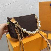 2021 المصممين حقائب اليد المدرسية المحافظ حقيبة الكتف المرأة رفرف الكلاسيكية تحويل crossbody أزياء العلامة التجارية الإبط