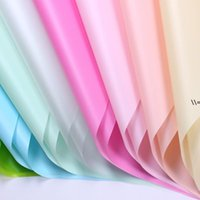 NEWFlower Wrapping Paper Solid Color Waterproof Paper Bouquet Gift Packing Paper Environmentally Friendly Matte Solid Color LLB10508
