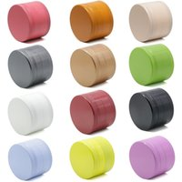 Ceramic Coating Grinder Smoking Accessories Non-stick 4 Parts Dry Herb Grinders 40 50 55 63mm Metal Crushers Multi Colors