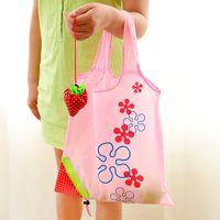 Reusable Durable Eco Cute Strawberry Storage Bag Tote Shoulder Purse GWE9789