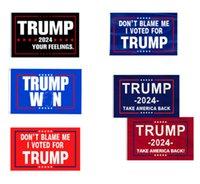 8 estilos Tome America Back Trump Bandera para tus sentimientos No me culpes He votado las banderas de Donald Banner 3 * 5F HH21-380