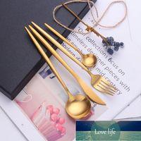 24pcs Gold Dinnerware Set Stainless Steel Tableware Set Knife Fork Spoon Flatware Set Dishwasher Safe Cutlery