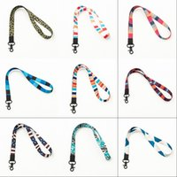 Fashion Lanyards For Cell Phone ID Card Keychain Long Wrist Keychains Detachable Hanging Good Quality Work Permit Lanyard 1132 B3