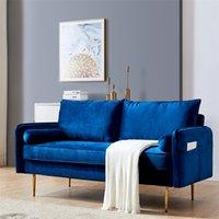 """Leichte luxus wohnzimmer net rot velveteen kleines haus mit tasche zwei drei person bekleidungsgeschäft nordic modern einfach stoff sofa 71 """"grün"""