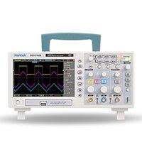 HANTEK DSO5102B Osciloscopio de almacenamiento digital 2CH 100MHZ Scopemeter 1M Memoria Profundidad 1GSA / S Tasa de muestra mejor que5102p