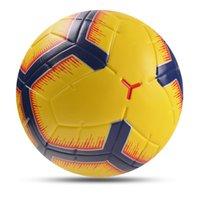2021 전문 축구 공 크기 5 원활한 소프트 PU 축구 목표 팀 경기 야외 스포츠 훈련 futbol bola de futebol