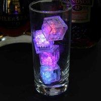 컬러 LED 라이트 마법의 아이스 램프 어린이 욕실 재생 물 장난감 램프 바 클럽 웨딩 분위기 장식 빛