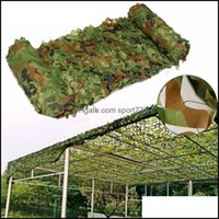 Tents Cam Hiking Sports & Outdoorstents And Shelters Camo Netting Camouflage Net Mesh Blind For Decorative Forest Landscape Sunshade Party O