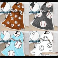 البيسبول كسول 18 أنماط 5070 بوصة الشتاء البطانيات الناعمة الدافئة مع الأكمام سميكة أريكة يمكن ارتداؤها بطانية المرأة كيب ljjo7355 tmjjp vxca4