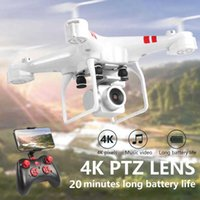 KY101D Pro Drone 4k Camera HD WIFI FPV Drone air Pressure Fixed Height Four-axis Aircraft Rc Helicopter Fly 20Mins