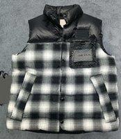 Mens Designer Down Colete Parkas com Letras Winter Design Colete para Homens Mulheres Classic Badge Jackets Casuais Coletes Casaco de Alta Qualidade
